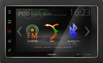 Navigace ZENEC Z-N326 - Apple CarPlay / Android Auto