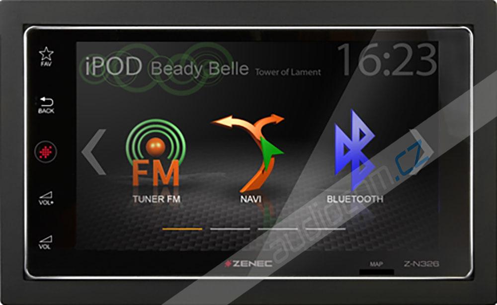 Navigace ZENEC Z-N326 - Apple CarPlay / Android Auto