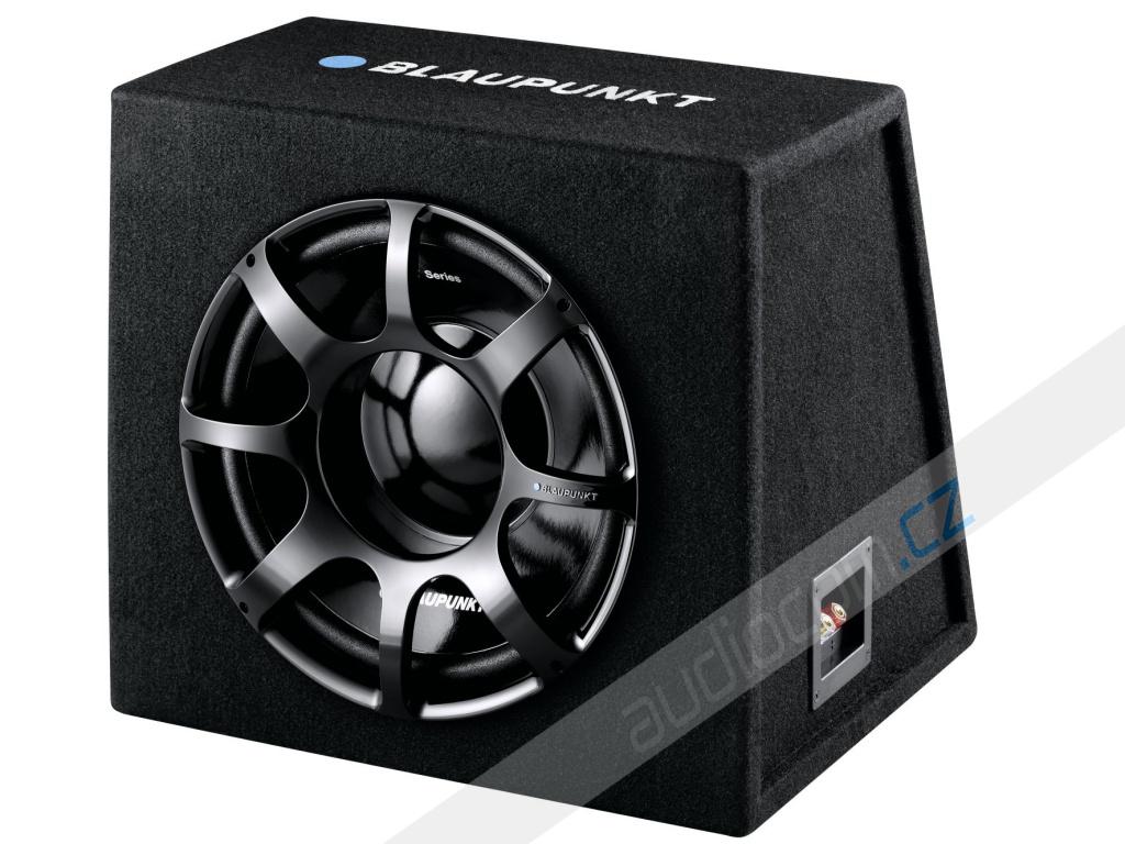 Subwoofer v boxu BLAUPUNKT GTb 1200 DE dark edition