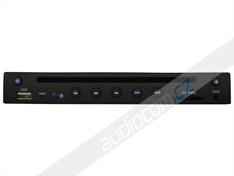 Slim (1/2 DIN) DVD přehrávač s SD / USB vstupem