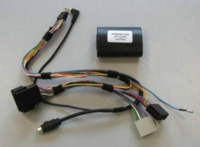 Adaptér ovl. volantu + displej PEUGEOT / CITROEN / ALPINE APF-D100PS