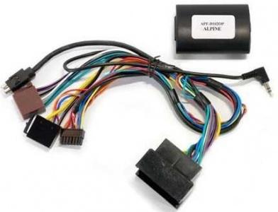 Adaptér ovl. volantu + displej OPEL / ALPINE APF-D102OP