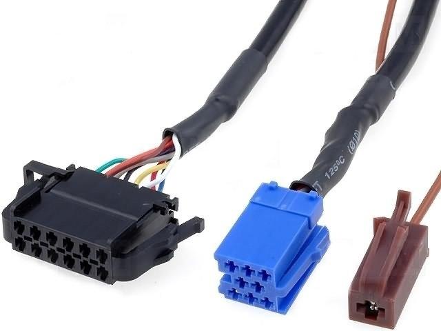 Kabel k CD měniči VW - AUDI 5 m (mini-ISO)