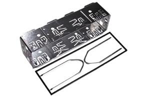 Univerzální rámeček autorádia 50 mm + vidličky