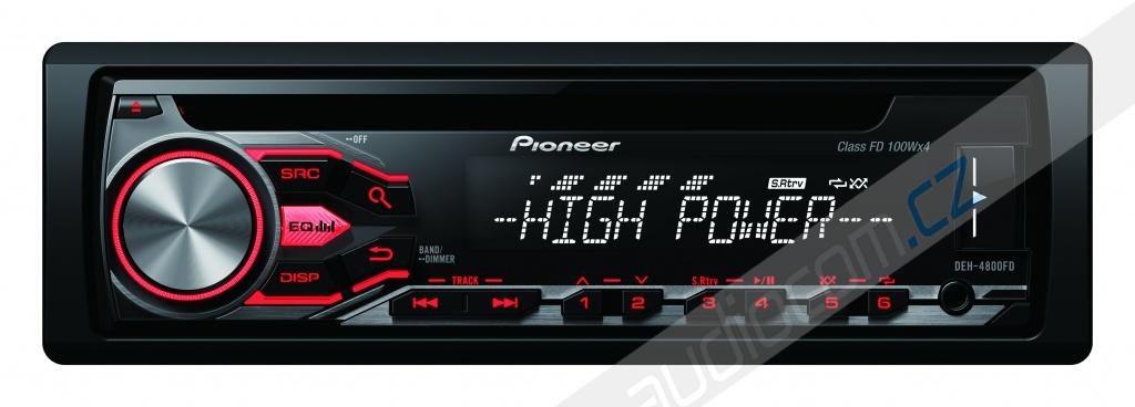 Autorádio PIONEER DEH-4800FD