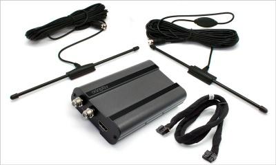 Televizní tuner ADAPTIV DVB-T2 - nový standard, 2x aktivní anténa