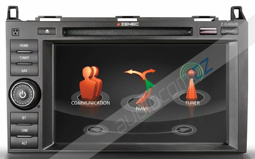Navigace ZENEC Z-E4626 pro vozy MERCEDES Sprinter / Vito / Viano