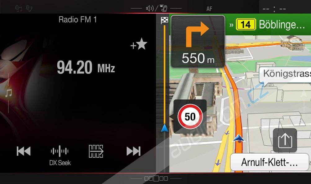 Navigace ALPINE X800D-S906 pro vozy MERCEDES Sprinter / Viano