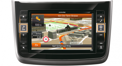 Navigace ALPINE X800D-V pro MERCEDES BENZ Vito [V639] a Viano [W639]