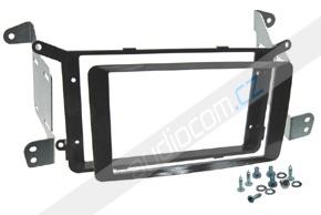 Rámeček 2DIN rádia MITSUBISHI ASX / PEUGEOT 4008 / CITROEN Aircross - černá lesklá